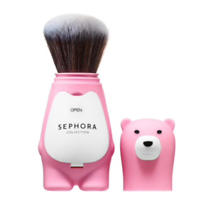 SEPHORA COLLECTION Love you beary much retractable powder brush Brand New in Bag