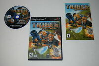 TRIBES Aerial Assault Playstation 2 PS2 Video Game Complete