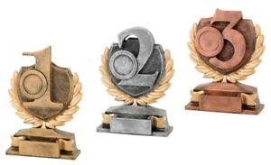 3er Serie Pokale SIEGEREHRUNG (FG15123) mit Emblem,Gravur nur 18,95 EUR