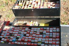 Vintage Sylvania Tube Lot Caddy Service Repair Case Box Big Lot Of Vacuum Tubes