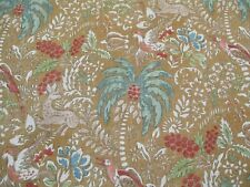 MULBERRY FABRIC 'FANTASIA - SPICE' 2 METRES (200cm) MODERN COUNTRY COLLECTION