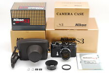 【BRAND NEW!! UNUSED】Nikon S3 2000 Limited Edition black  W/50mm F/1.4 From Japan