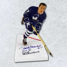 Frank Mahovlich Toronto Maple Leafs Autographed McFarlane Sports Picks Figure