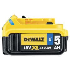 Dewalt DCB184B 18v 5Ah Bluetooth Slide Li-ion Battery Pack