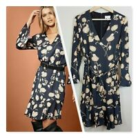 [ WITCHERY ] Womens Floral Print Swing Dress | Size AU 8 or US 4