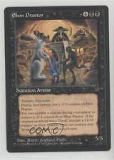 1994 Magic: The Gathering - Fallen Empires #NoN Ebon Praetor Magic Card 1i3