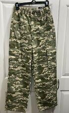Carhartt Boys Camo Pant Size 16 Original Dungaree Fit 6 Pocket Pants New w/Tag