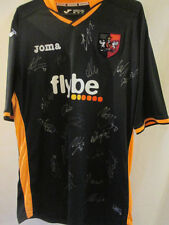 Exeter City 2014-2015 Squad Signed Away Football Shirt with COA /34930