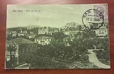 < C3 > CARTOLINA POSTCARD SAN REMO VILLE DEL BERIGO 1919