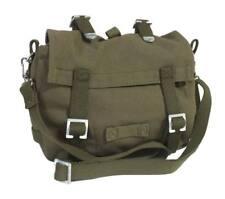 Bolso tela panera verde oliva estilo casual militar complemento unisex