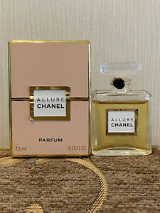ALLURE Chanel (1999) 7.5 ml Perfume Bottle sealed vintage Extremely Rare.