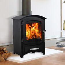 Wellingore 6.22KW Log Burner MultiFuel Wood Burning Stove WoodBurner Fireplace
