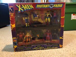Vintage 1993 ToyBiz Marvel Uncanny X-Men Mutant Hall of Fame 10 Figures in box!