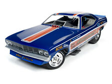 1:18 AUTO WORLD *WHIPPLE & McCULLOCH* 1971 Plymouth CUDA NHRA Funny Car NIB!