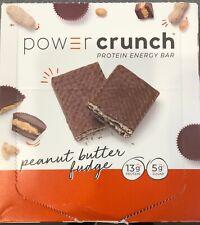 Power Crunch Bar, Peanut Butter Fudge, 12 Bars, 1.4 oz (40 g) expires Nov-8-20
