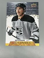 Dustin Brown 2020-21 Upper Deck Series 1 Canvas C37 Los Angeles Kings