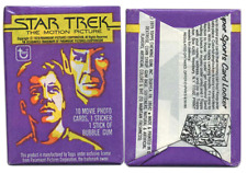 Topps STAR TREK THE MOTION PICTURE Sealed/Unopened Wax Pack (1979)