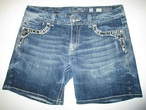 Miss Me Denim Jean Easy Shorts Tag Size 32