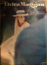 Original Vintage Poster elvira madigan 1960s Movie Memorabilia pinup Headshop
