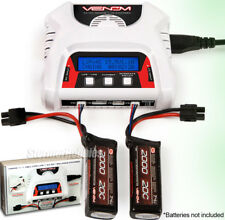 Venom 0683 2-4 Cell AC/DC LiPO Battery Balance Charger Life w/LCD DUAL-CHARGING