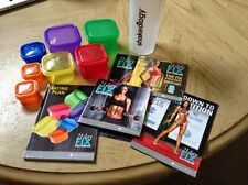 New Sealed 21 Day Fix EXTREME Program. 4 Dvds, 7 Containers, Shaker and Guides