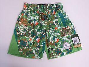 Youth X Small Boys Kiss Me I'm Irish  Athletic Mesh Shorts Green Flow Society