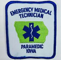 Iowa Paramedic Emergency Medical Technician EMT Patch (B)