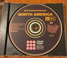 2007 2008 2009 Lexus RX350 RX400H 2017 Navigation Map Update DVD Gen 5 U41 16.1