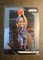 2018-19 NBA 🏀 PANINI PRIZIM RICKY RUBIO UTHA JAZZ  mint condition card..