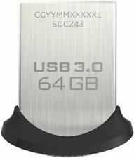 16GB 32GB 64GB 128GB SanDisk ULTRA FIT USB 3.0 Flash Drive Stick Pen - 150MB/s