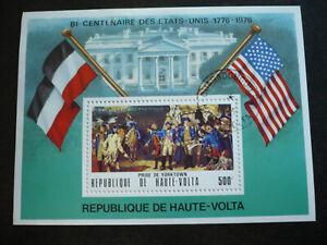 Stamps - Burkina Faso (Upper Volta) - Scott# C244 - Souvenir Sheet - CTO