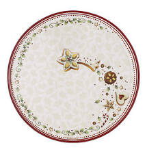 Villeroy & Boch Christmas WINTER BAKERY DELIGHT Sp snack / salad plate 24cm NEW