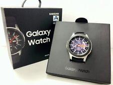 Samsung Galaxy Watch Sm-r800 46mm Silver Case Classic Buckle Onyx Black VAT