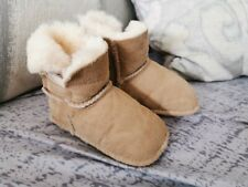 Baby Ugg Boots 6/12 Months . Tan Colour.