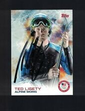 Ted Ligety Alpine Skiing Signed 2014 Topps USA Olympics Card W/Our COA