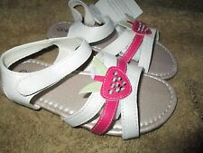 Toddler Girls white Gladiator Sandals size 6,7,8,9,10 or 11 Brand New in box