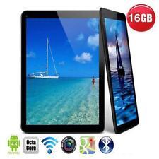 """N98 9"""" Android 4.4 Tablet PC Quad Core 1GB+16GB WiFi W/ Mic EU Plug Black"""