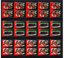 FERNANDO ALONSO 2010 FERRARI F1 WIN SET OF 3 VIGNETTE STAMPS 2