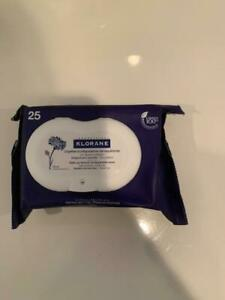 Klorane Make-up Remover Biodegradable Wipes with Soothing Cornflower Sensitive