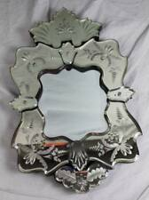 Mirror IN Venetian Style With Verspiegeltem Frame - Approx. 19 11/16x11