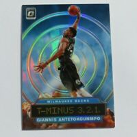 Giannis Antetokounmpo Panini Optic Prizm T-Minus 3.2.1. 2019-2020 #8 Basketball