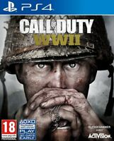 CALL OF DUTY WWII WW2 PS4 PAL ESPAÑA CASTELLANO ESPAÑOL NUEVO PRECINTADO