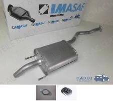 IMASAF ESD Auspuff Endtopf + Anbauteile für Hyundai Trajet 2.0 16V 2000-