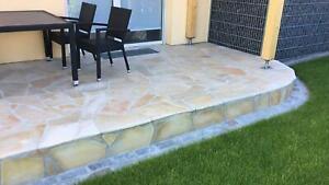 CREMA ESCLUSIVO 8-12mm Naturstein Polygonalplatten Terassenplatten Bodenplatte