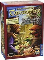 Carcassonne: Commercianti e Costruttori, Espansione 2 - Nuovo, Italiano Ed. 2016