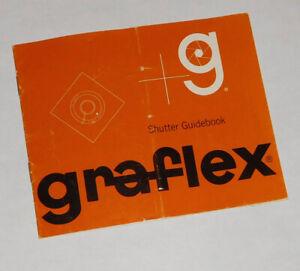 Graflex Shutter Guidebook.. FREE SHIPPING