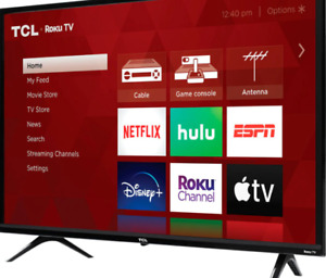 "TCL 32"" Classe 720P HD DEL Roku Smart TV Série 3 32S331"