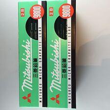 Mitsubishi Pencil Office 9800  2B dozen 72 pieces