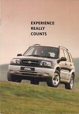 Suzuki Grand Vitara 2.5 V6 24v 5-dr 1998 UK Market Launch 8pp Sales Brochure