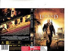 I Am Legend-2007-Will Smith- Movie-DVD